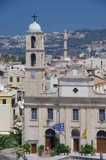 La Canée (Χανιά), sur la butte derrière la synagogue.