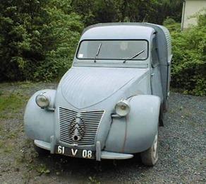 Citroën 1951 2 CV AU fourgonnette
