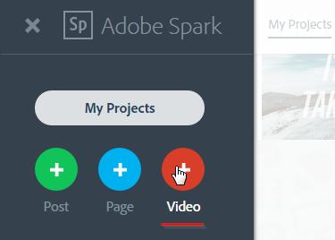 Создание Видео в Adobe Spark