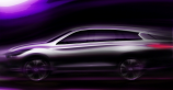 Infiniti provides an early glimpse at the new JX crossover. Concept version will debut at Pebble Beach. Production model is coming to LA