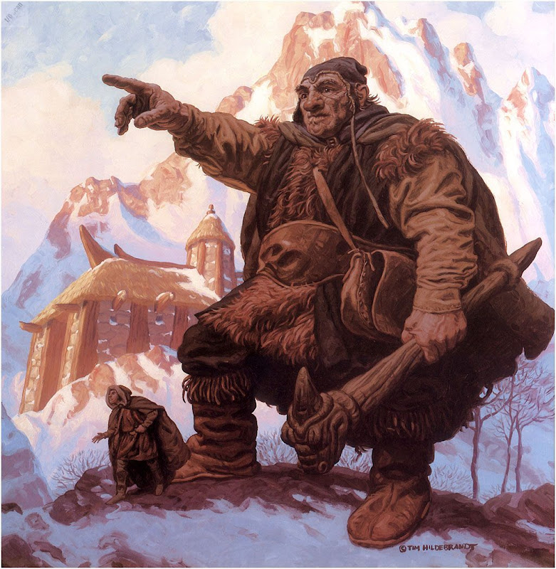 The Snow Giant, Magick Warriors 3