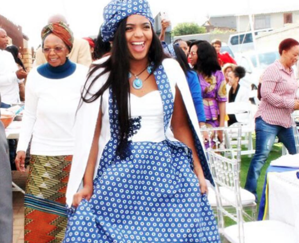 THE BEST TRADITIONAL SHWESHWE DRESSES FROM SOUTH AFRICA 2