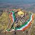 कळसुबाई शिखरावर तिरंग्यातून महाराष्ट्राचा नकाशा साकारून शहीद जवानांना श्रद्धांजली