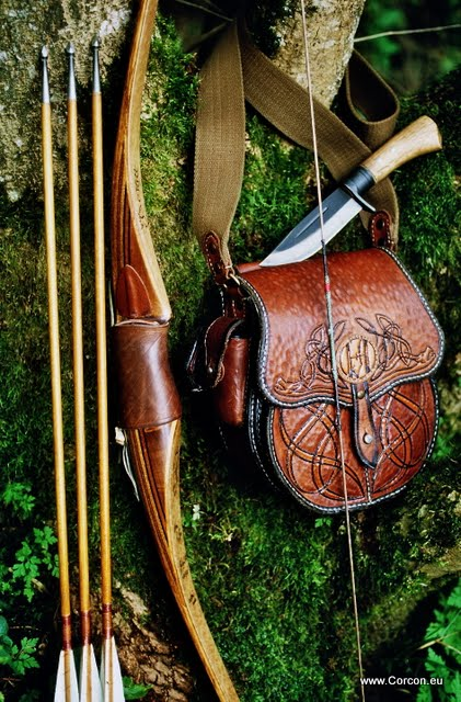 Bow And Arrow Bag : Fotogalerie bogenschiessen archery corcon craft