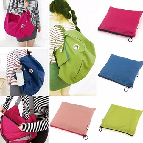 3 way korean folding bag - tas lipat 3in1 serbaguna.