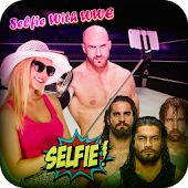 Selfie with WWE Superstars : WWE Photo Editor 2018