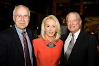 Carl Landwehr, president of Vitae Foundation; Anne and David Carruth