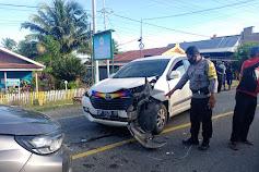 Kecelakaan Lalu Lintas di Bendoro Kagetkan Warga Pagi Pagi