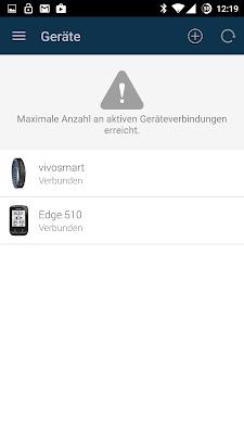 Zwei Geräte mit Connect verbunden