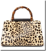 Gucci Mini Calf Hair and Leopard Tote