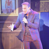 WWW.ENTSIMAGES.COM -    Dr Christian Jessen welcome speech    at      West End Bares 2014 - Nude Dunnit at Cafe de Paris, London September 7th 2014Annual dance/burlesque fundraising show hosted by TheatreMAD in aid of The Make A Difference Trust.  Photo Mobis Photos/OIC 0203 174 1069