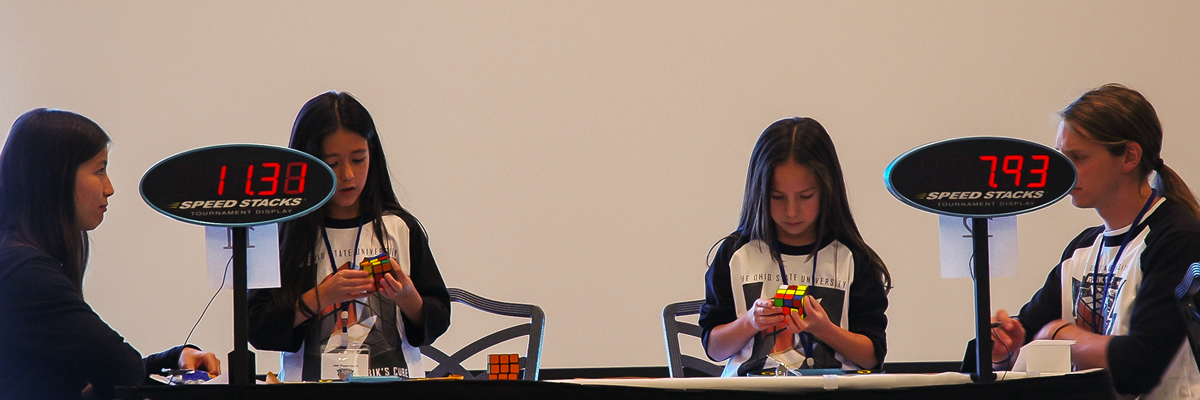 Jael y Rachel en el US Nationals 2011.