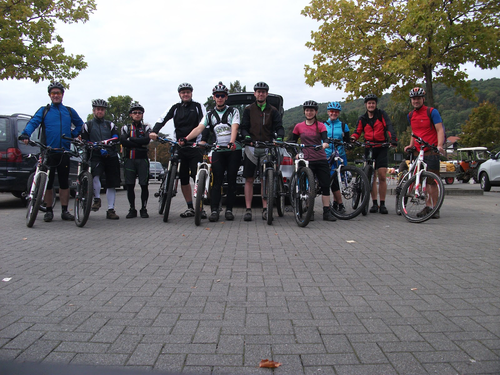 Pfalz - schiefe Sack Tour am 26.09.2015
