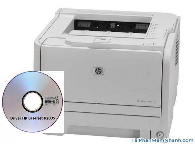 Tải phần mềm cài đặt Driver máy in HP Laserjet P2035