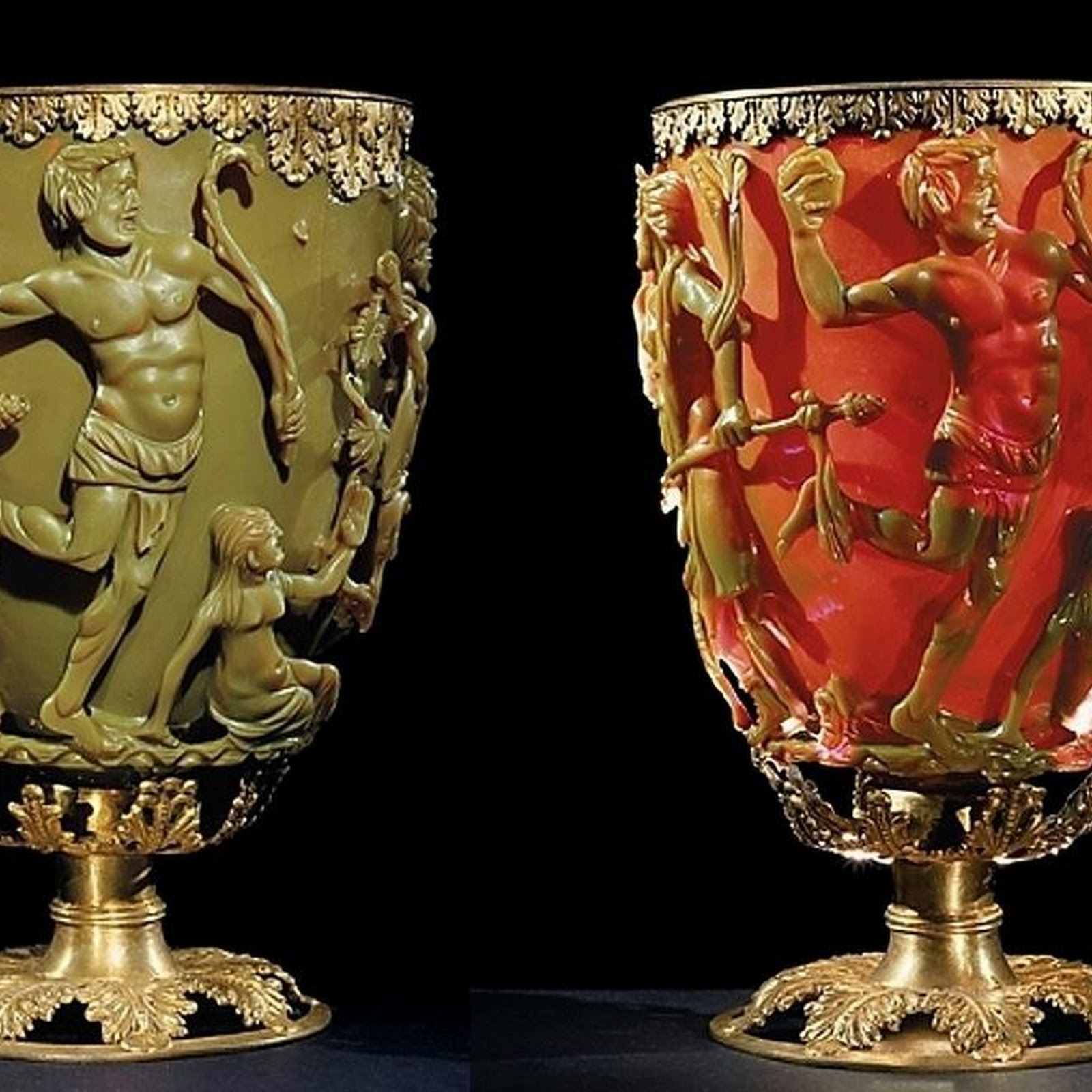 Lycurgus Cup: A Piece of Ancient Roman Nanotechnology