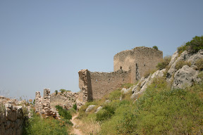 Tower on the wall of Acrocorinth