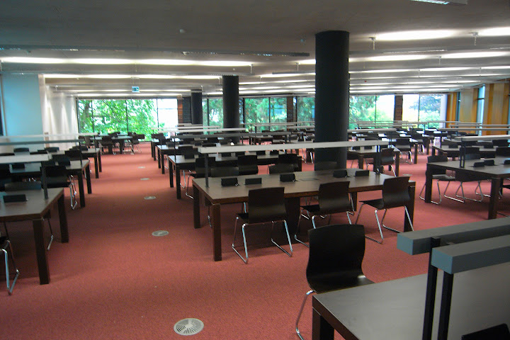 Boole Library  study area