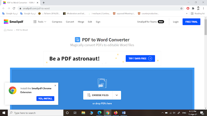 How to convert PDF to word?