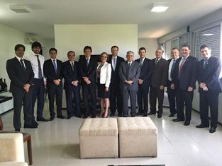 Governador Robinson Faria reunido com bancada federal Foto Divulgação Assecom (7)