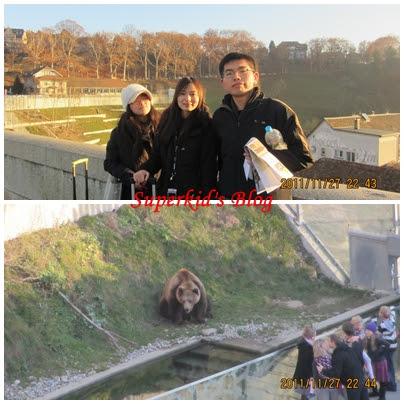 我在伯恩熊公園!!! :)