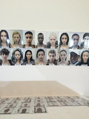 ashish model line-up backstage london fashion week 2015