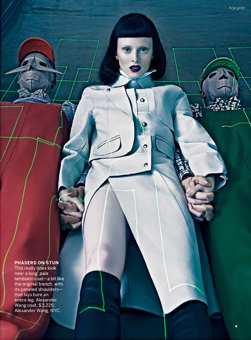 Karen Elson - Vogue US - September 2012