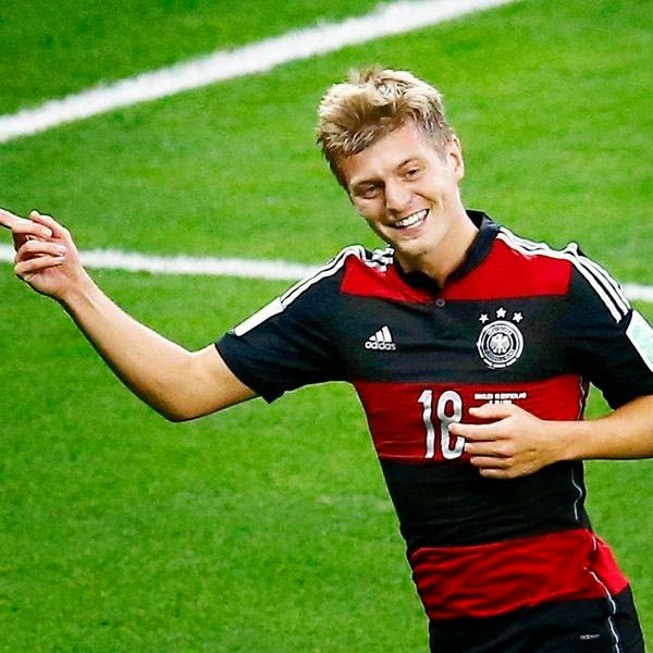 Kroos, whose contract with Bayern expired next season, sided with Real over alternative touted moves to the likes of Manchester United or Chelsea.