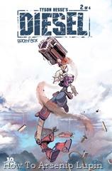 Actualizacion 13/06/2016: La pareja tecnomagica formada por Shinji y Rockfull nos trae el segundo numero de esta fantástica miniserie.