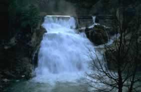 Photo: Cascada en el alto Tajo
