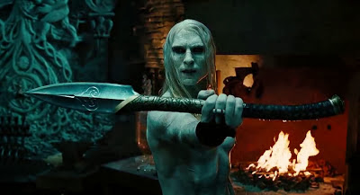 Screen Shot Of Hollywood Movie Hellboy II: The Golden Army (2008) In Hindi English Full Movie Free Download And Watch Online at Alldownloads4u.Com
