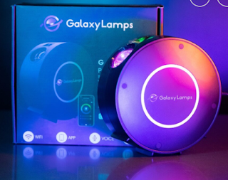 Galaxy Projector with lights for the ceiling and room