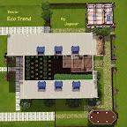 Eco Trend, a modern eco-friendly house