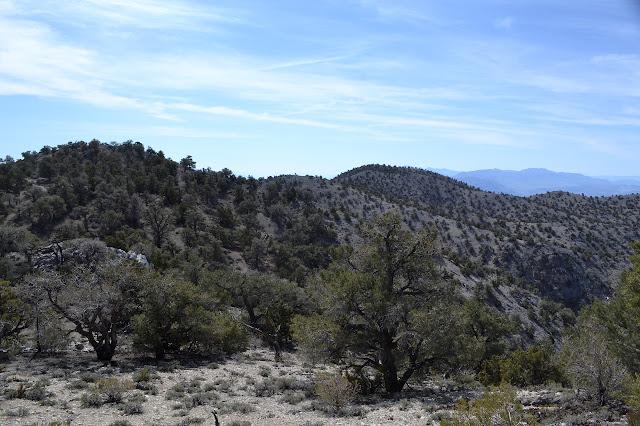 ridge line hills