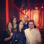 Heather, Derya, Ed, D.J., and I at Zip Sushi on my birthday this past Saturday.