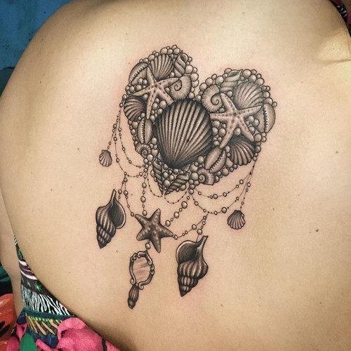 este_romntico_shell_de_tatuagem
