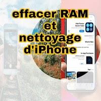 Comment effacer la RAM et nettoyer l'iPhone sur iOS 14