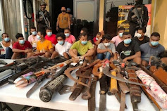 Polisi Berhasil Gerebek Kampung Ambon Komplek Permata Kedaung, Kali Angke Jakarta Barat