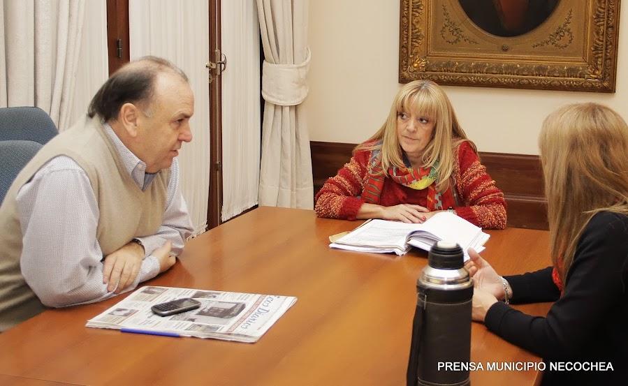 nueva secretaria de Salud Dra. Benita García