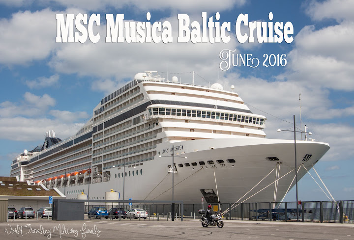 MSC Musica Baltic Cruise
