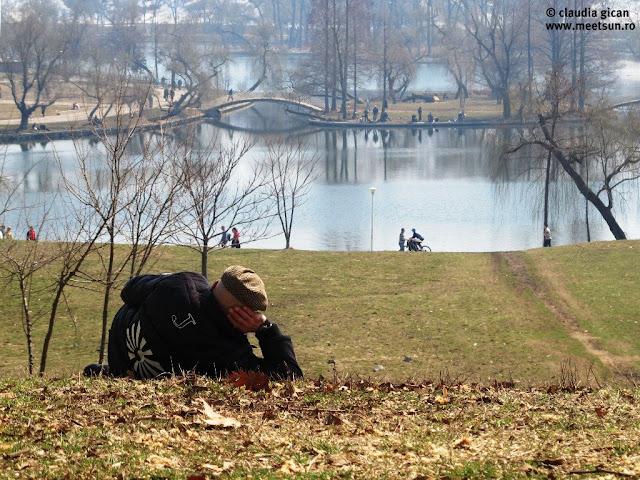 Batranul din Parcul Tineretului