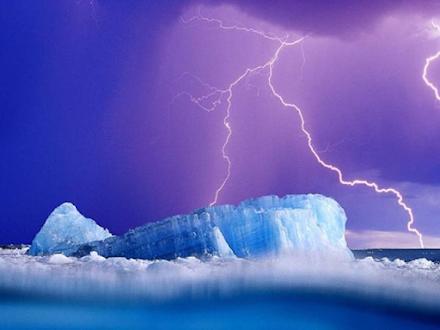 Ανησυχητική αύξηση των καταιγίδων στον Βόρειο Πόλο