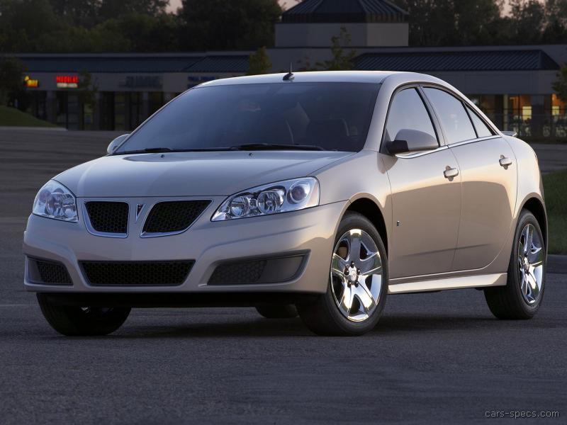 2008 Pontiac G6 Sedan Specifications Pictures Prices