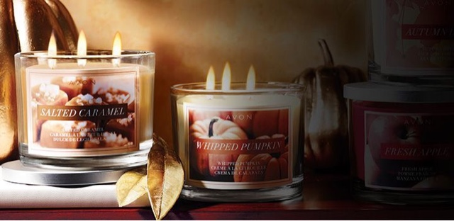 #Shop Avon Candles