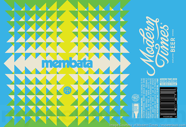 Modern Times Membata Cans Coming In Oct