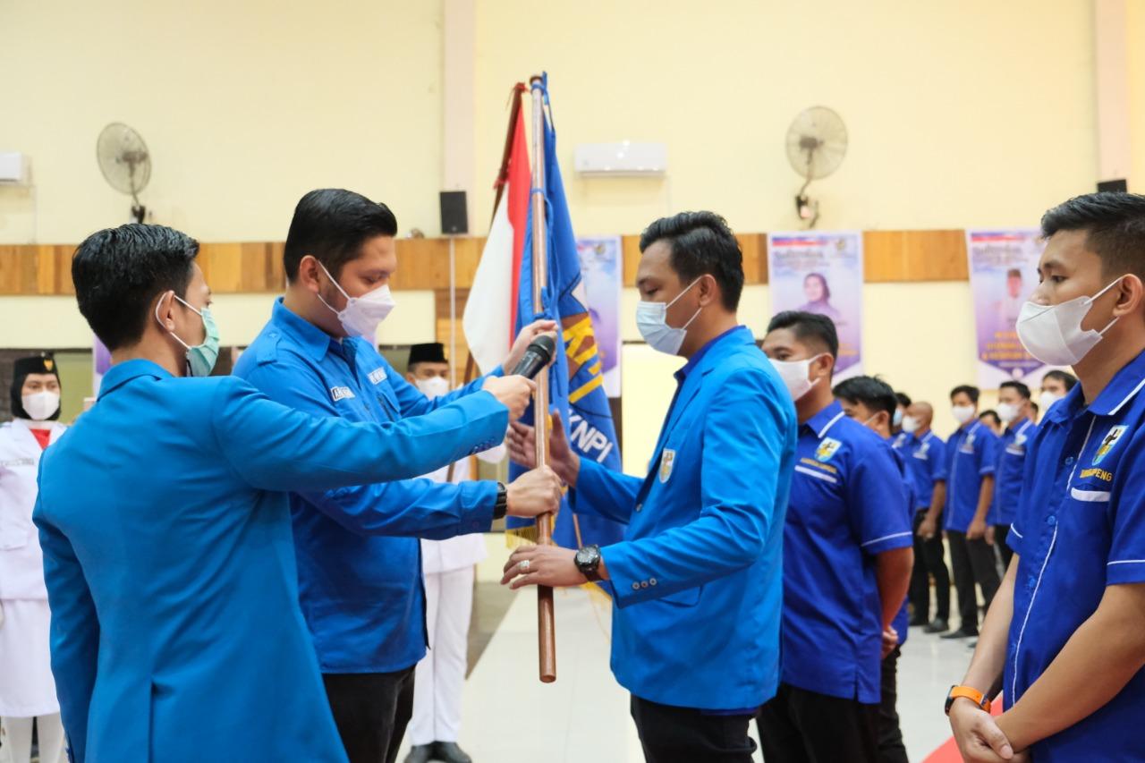 Pengurus DPD II KNPI Kabupaten Soppeng Pimpinan Awal Miftah Periode 2020-2023 Resmi Dilantik