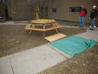 Table on site