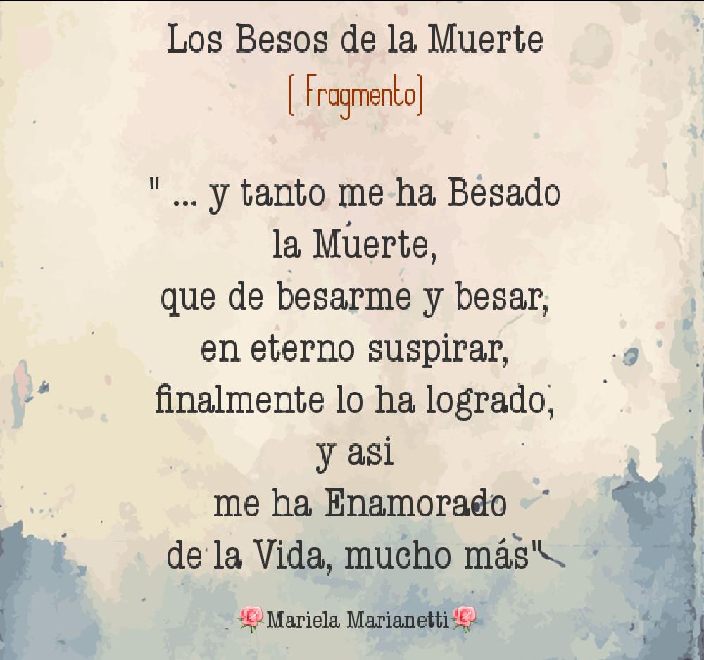 Los Besos De La Muerte Poema