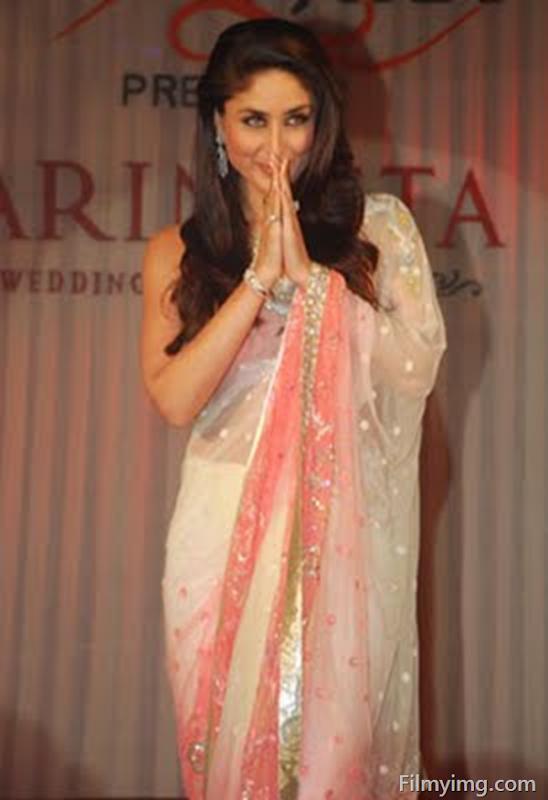 Kareena Kapoor Photos In Pink Saree 2