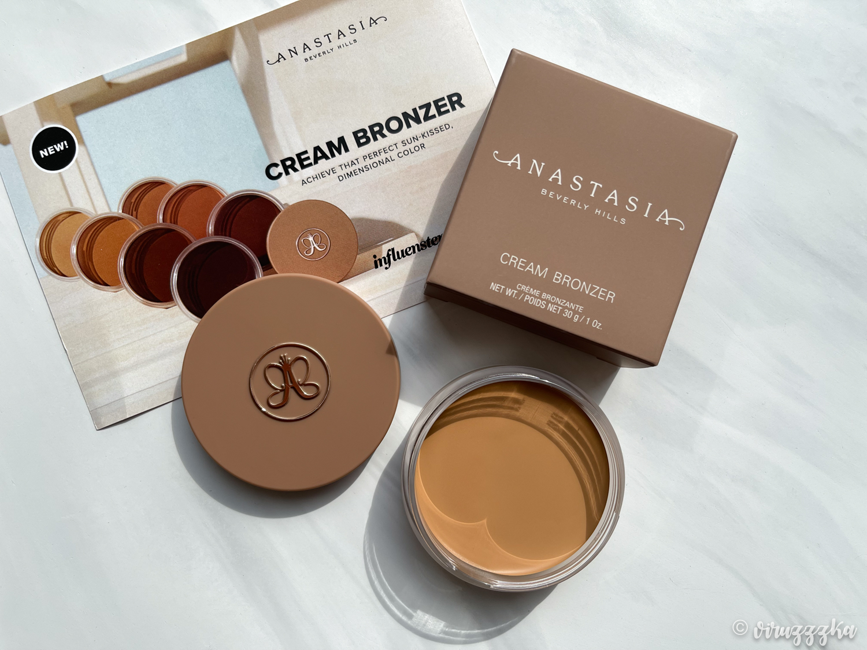 Anastasia Beverly Hills Cream Bronzer Sun Kissed Review