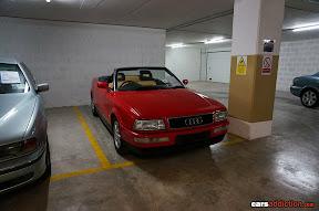 Audi Cabrio in rare spec